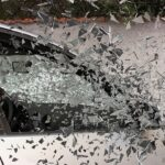 Image of a shattered car window, representing how southern WV car accident lawyer Jason Harwood of Harwood Legal fights for compensation to make you financially whole after an accident.